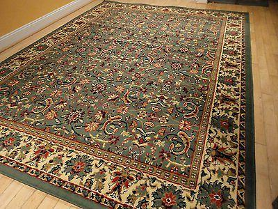 New Green Traditional Oriental RugPersian Style Carpet Runners