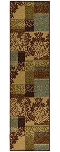 Ottomanson Ottohome Collection Contemporary Damask Design No