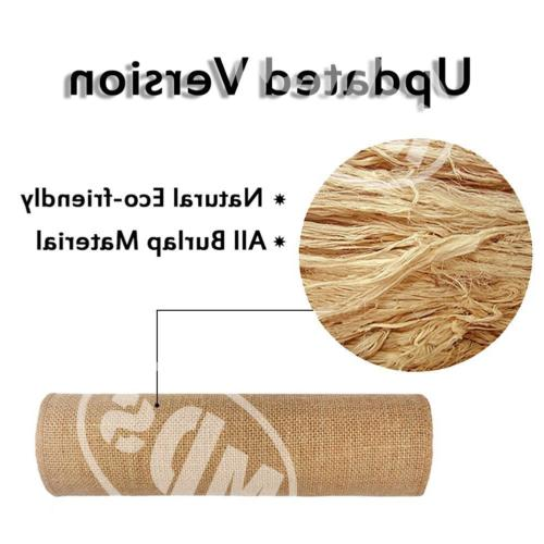 mds Pack 10 Wedding inch Table Natural
