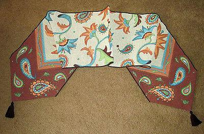 paisley park tapestry table runner