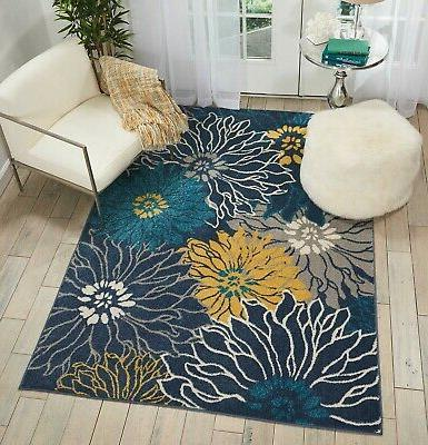 Passion Rug Bohemian Transitional Floral By