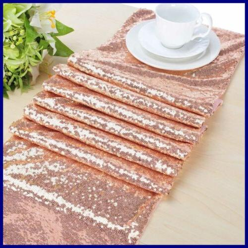 Sequin GOLD Sparkly For Wedding Decors 1