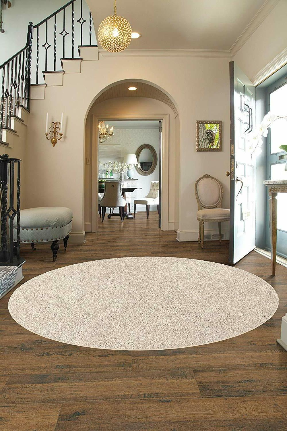 Soft Cozy Graham Cracker Area Rug Multiple Sizes and Shapes