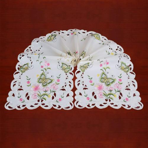 Simhomsen Butterfly Floral Table Runners, Scarf