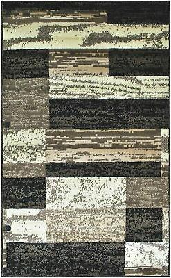 Superior Modern Area Rug, 8mm Height