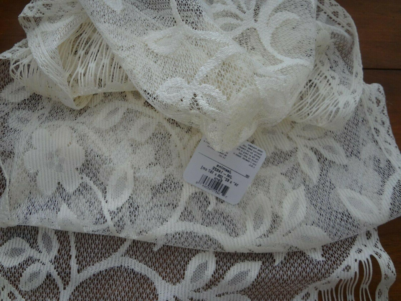 """Heritage lace table mat runner x 62 """" Ecru New"""