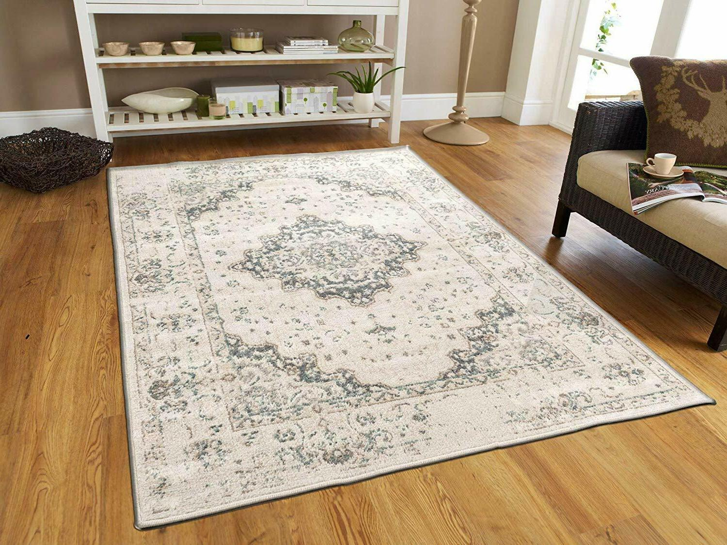 traditional distressed area rug 8x10 large rugs