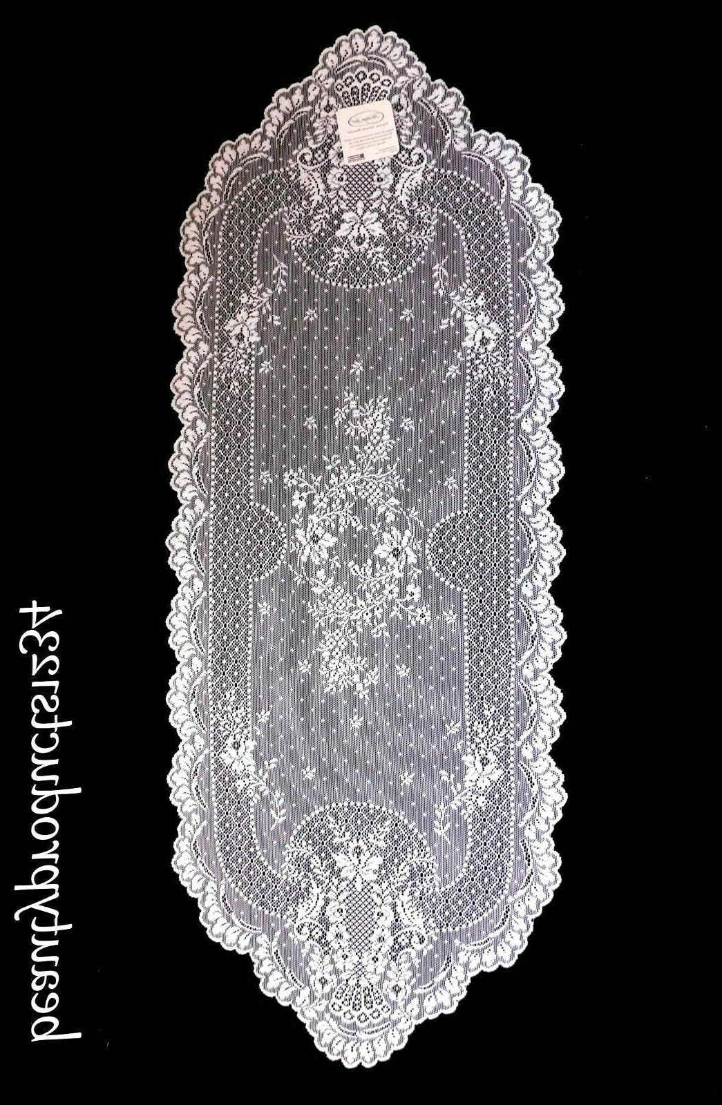 """Heritage Lace FLORET 14"""" New with"""