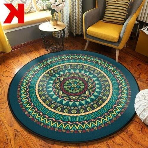 Wool Rug Throw Soft Mat Washable NonSlip Rug