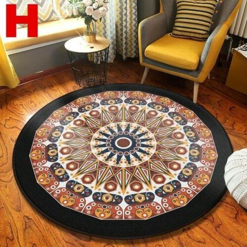 Wool Round Rug Traditional Throw Runner Rug