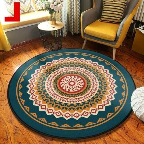 Wool Small Rug Traditional Soft Mat NonSlip Rug