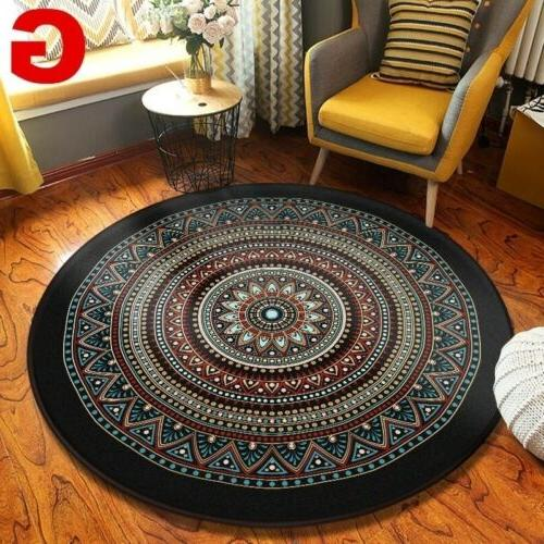 Wool Rug Traditional Soft Washable
