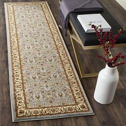 Safavieh Lyndhurst Traditional Oriental Light Blue/ Ivory Ru