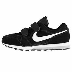 Nike MD Runner 2 Child Boys Trainers Black/White Shoes Footw