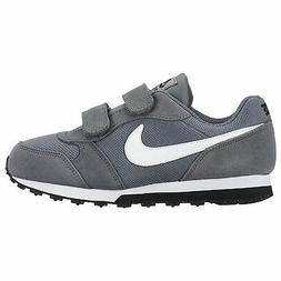 Nike MD Runner 2 Child Boys Trainers Shoes Running Grey Athl