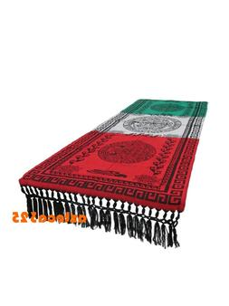 "Mexican Table Runner Bandera 78""x29"""