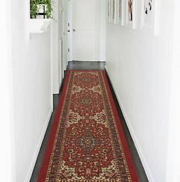 Modern Hall Runner Rug Long Hallway Area Carpet Non Slip Rub