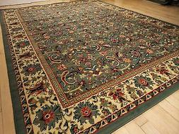 new green area rugs traditional 8x11 oriental