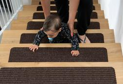 EdenProducts Non Slip Carpet Stair Treads, Set of 15, Rug No