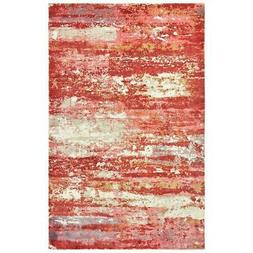 Oriental Weavers FORMATIONS 70004-2x10-Red Area Rug - 10' Ru