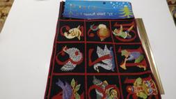 PARK B SMITH 72 INCH TABLE RUNNER CHRISTMAS Calendar