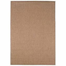 Couristan Saddle Stitch Indoor/Outdoor Area Rug, Terra-Cotta