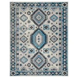 Southwestern Geometric Indoor Hallway Runner and Area Rug by