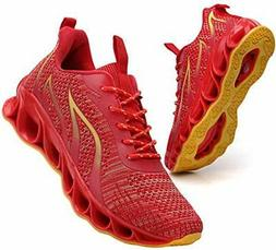 Sport Running Shoes for Mens Mesh Breathable Trail Runners F
