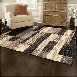 superior modern rockwood collection area rug 8mm