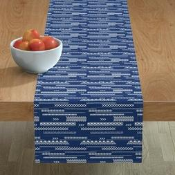 Table Runner Blue America Independence Day Littlesmilemakers